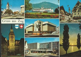 ZUG - MULTIVEDUTE - VIAGGIATA- - ZG Zoug
