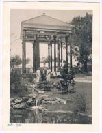 Grande Photo 18 Cm X 24 Cm, Exposition Universelle De 1935, Bruxelles, Jardin Du Commissariat Général - 2 Scans - Lieux