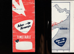 DOC2) EDEN AIRWAYS HALF TIMETABLE 1954? HALF ONLY TIMETABLE - Aviazione Commerciale