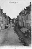 Avallon, La Rue De Lyon - Avallon