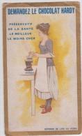 Publicité - Demandez Le Chocolat HARDY - Agent Général J-L Spriet à Bruxelles - Format 14.85 X 8.8 Cm - Altri
