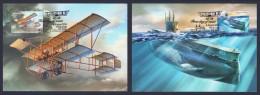 "2014 AUSTRALIA ""CENTENARY OF MILITARY AVIATION / SUBMARINES WWI"" MAXICARDS - Maximum Cards"