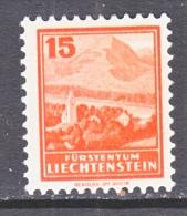LIECHTENSTEIN  119    *  1934-5  ISSUE - Liechtenstein