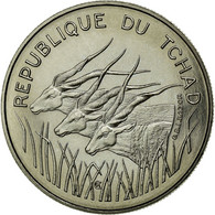 Monnaie, Chad, 100 Francs, 1971, Paris, FDC, Nickel, KM:E3 - Tsjaad