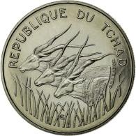 Monnaie, Chad, 100 Francs, 1971, Paris, FDC, Nickel, KM:E3 - Tchad