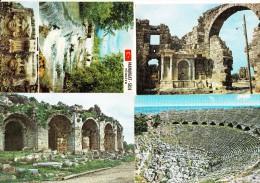 7 POSTCARDS:   'Cennet Sehir ANTALYA'  -  Turkey/Türkiye   (4 Scans) - Turkije