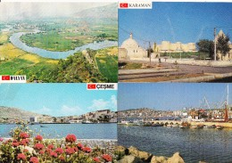 9 UNUSED  POSTCARDS:  Turkey/Türkiye - ´´KESKIN COLOR Kartpostalcilik Limited Sirketi´  -  (3 Scans) - Turkije