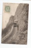 Cp , Le Cheminde Fer De SALEVE , Train , Voyagée 1910 , Ed : Briquet & Fils , Genéve - Trenes