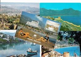 10 UNUSED  POSTCARDS:  ALANYA   - Turkey/Türkiye    -  (3 Scans) - Turkije