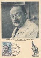 Carte  Maximum   1er   Jour     Hyacinthe    VINCENT      BORDEAUX    1962 - Maximumkaarten