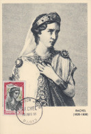 Carte  Maximum   1er   Jour     RACHEL      1961 - Cartas Máxima