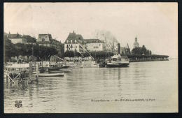 CPA 74- EVIAN-LES-BAINS - Hte-Savoie-  Le Port --   Recto Verso- Paypal Sans Frais - Evian-les-Bains