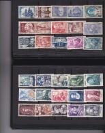 B Collection de timbres oblit�r�s de France dont S�ries GH compl�tes, hippisme  Cote +++ !!!