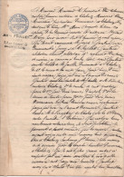 FRANCE Sans Timbre Fiscal Actes Huissier 1887 CHALONS-SUR-SAONE Me POULLIEN - Fiscali