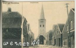 Emsbüren V. 1906 Langestrasse Mit Geschäft Und Kirche  (24928-01) - Lingen