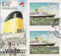 2015 Azoren Used     Selbstklebend  Europa Visite - Europa-CEPT