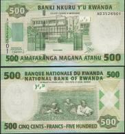 Rwanda P 34 - 500 Francs 1.2.2008 - UNC - Rwanda