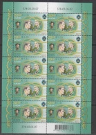 Europa Cept 2007 Estonia 1v Sheetlet  ** Mnh (F5010) - 2007