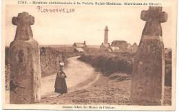 MENHIRS Christianisés à La Pointe Saint Mathieu (environs De BREST) - Dolmen & Menhirs