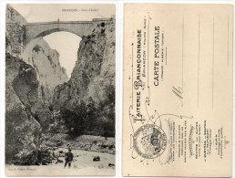 """BRIANCON - Pont D' Asfeld - Pub Laiterie Briançonnaise """"L' Alpin"""" Fromages Des Alpes     (84042) - Briancon"""