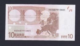(BE022)  - 10 € - GERMANY X - JC TRICHET - SC/UNC  (E002B2) - EURO