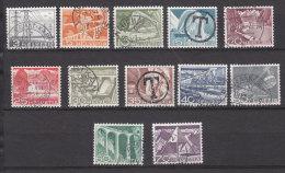 1949   N° 297 à 308    OBLITERES     CATALOGUE ZUMSTEIN - Suisse