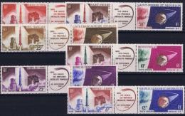 Colonies Francaises: 1er Satelite Françcais 6 Cx Triptyque MNH/**/postfrisch/neuf - Other