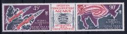 TAAF  : Yv Nr 40 - 41 41 A   MNH/**/postfrisch/neuf  1975 - Neufs