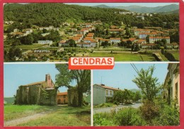 CPM 30 CENDRAS Multi Vues Vue Générale ..   Près LA GRAND COMBE - Autres Communes