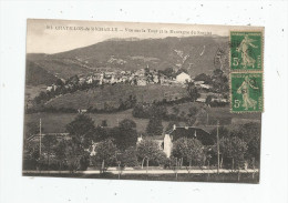 Cp , 01 , CHATILLON DE MICHAILLE , Vue Sur La Tour Et La Montagne Du SORCIAT , Voyagée 1919 - Otros Municipios