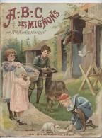 A.B.C des Mignons,Marie de Grand'Maison, alphabet, �diteur Paul Bernardin,livre pour enfants