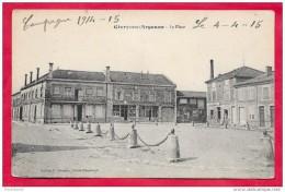 51-Givry En Argonne-la Place -cpa   écrite  Précurseur 1915 - Givry En Argonne