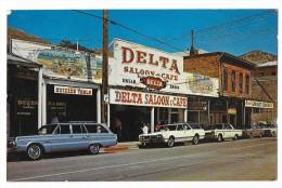 Cpsm: AMERIQUE - U.S.A. NEVADA - VIRGINIA CITY - DELTA Saloon - Café (car 1960 - 70's) N° 74493 - Etats-Unis