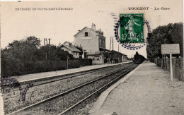 Vougeot : La Gare (Editeur Non Mentionné) - Autres Communes