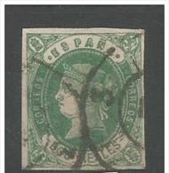 LOTE 249  ///  (C293) ESPAÑA   -  EDIFIL Nº: 52  //  YVERT Nº 58     CATALOG/COTE: 19€ - 1850-68 Kingdom: Isabella II