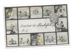 8656 - 17 - Souvenir De ROCHEFORT SUR MER,  Carte Multi Vues, - Rochefort