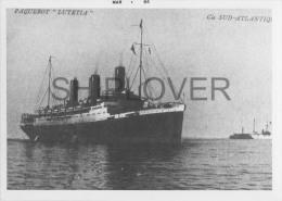 paquebots fran�ais - lot de photos contre-types - bateau/ship/schiff