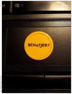 Café Schatjes !! - Zutphen  - Netherlands Consumptiemunt  ( Plastiek Jeton / For Grade And Details, Please See Photo ) ! - Pays-Bas