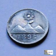 Guatemala - 1/4 Real - 1896 - Guatemala