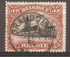 N° 142, Oblitération Granglise - 1915-1920 Albert I