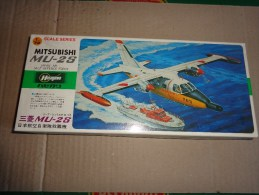 Maquette Avion Militaire-en Plastique----1/72 Hasegawa -mitsubishi Mu -2 S - Avions