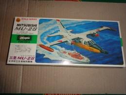 Maquette Avion Militaire-en Plastique----1/72 Hasegawa -mitsubishi Mu -2 S - Flugzeuge
