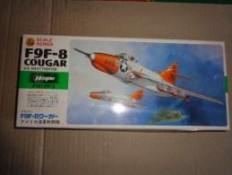 Maquette Avion Militaire-en Plastique----1/72 Hasegawa F 9 F -8 Cougar - Aerei