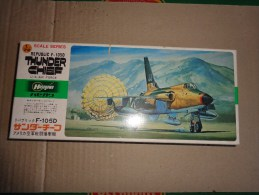Maquette Avion Militaire-en Plastique----1/72 Hasegawa Thunder Chief F 105 D - Airplanes
