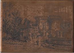 Estampe Cuivre Pour Carte Postale Format 10x14cm - Stampe & Incisioni