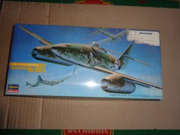 Maquette Avion Militaire-en Plastique----1/72 Hasegawa -MESSERSCHMITT ME 262 A - Aerei