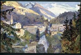 Badgastein, Ansicht., Pinx E.H. Compton, Verlag Höllrigl - Bad Gastein