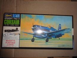 Maquette Avion Militaire-en Plastique-.---1/48 Hasegawa  VOUGHT F4U-1 D  CORSAIR - Airplanes