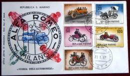 San Marino 1962 / Car, Alfa Romeo, - Coches