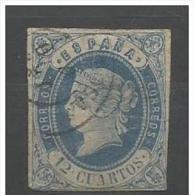 LOTE 249  ///  (C133) ESPAÑA   -  EDIFIL Nº: 59  //  YVERT Nº 55   // CATALOG/COTE:  12,50€  ***LUXE*** - 1850-68 Königreich: Isabella II.